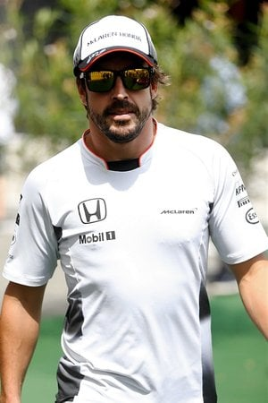 Regardless of the error, Alonso started seventh and showed good pace