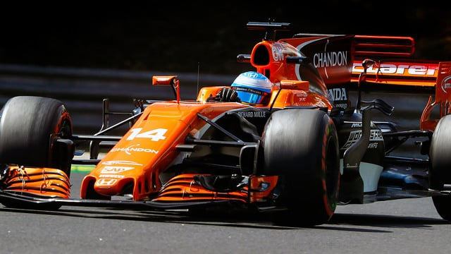 Alonso was able to open up an impressive 20 second gap in the second half of the race
