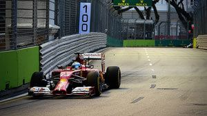 Alonso gives Ferrari something to savour