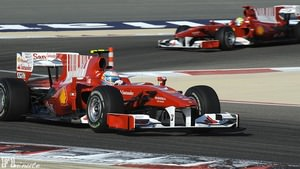 Fernando Alonso makes his Ferrari debut in Bahrain