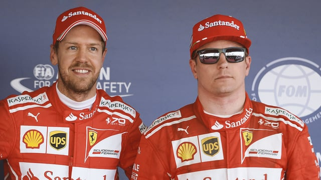 Vettel and Räikkönen score all-Ferrari front row after Sochi qualifying