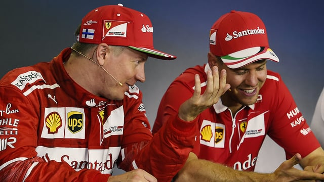 Ferrari score double podium in Hungary as Red Bull drivers fall out