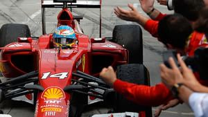 A podium for Ferrari pull them ahead of Williams