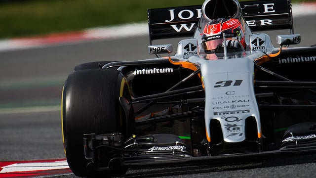 Esteban Ocon gets first taste of Force India