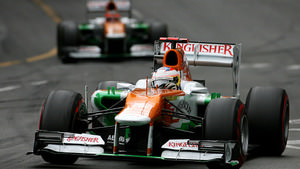 Force India play follow-the-leader in Monaco