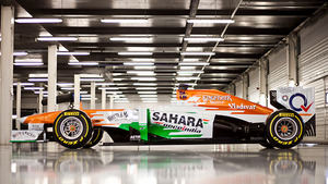 Force India VJM06 at Silverstone