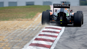 Force India in Malaysia