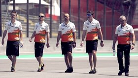 Here it is, then, the final weekend of the 2013 F1 season. Where better for the final race to take place but the fun and fabulous Brazil? We've got three practice sessions with a handful of Friday drivers making an appearance, and Pirelli's new tyres for next year getting an outing. There's time for the teams to make their preparations ahead of qualifying, with all seeking to end their season on a high. The iconic Interlagos track is short and sweet, so settle in as the drivers start to find their feet/tyres on the tarmac.