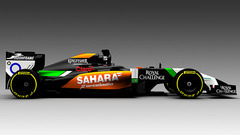 Sidepodcast: Force India show off new, dark livery