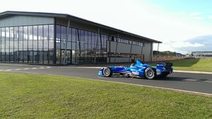 Taking the quick way home at Formula E testing