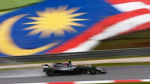 Practice ends early after drain issue causes Grosjean crash