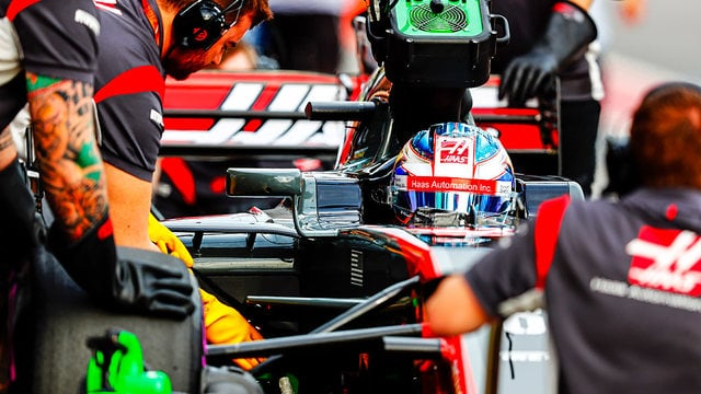 Not many were backing Haas to secure the best of the rest tag