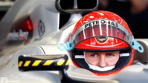 Schumacher waits to go out in Bahrain practice
