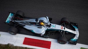 Hamilton leads the way as Italy sessions get underway