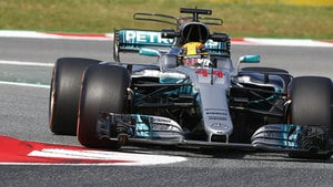 Hamilton sets the fastest time in both practice sessions