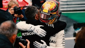 Delayed session eventually sees Hamilton on pole