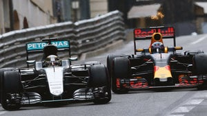 It was a very different drive by Hamilton