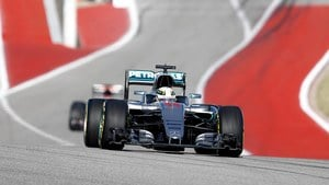 Hamilton starts US GP on pole