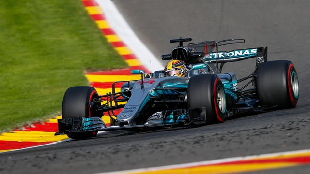 Hamilton equals pole positions record at Spa