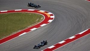 Hamilton tops the times in first Austin session