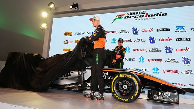Revealing Force India's new look