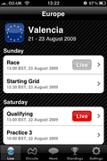 More live timing information for mobile F1 fans