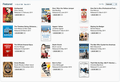 New and notable on iTunes, but in books rather than podcasts