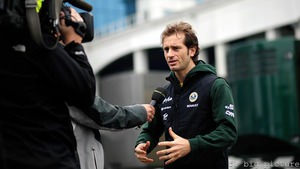 Jarno Trulli hopes for more when the power steering is fixed on his Lotus
