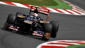Vergne out on his own, or falling backwards?