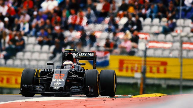 Jenson Button is the man to turn to when the going gets damp