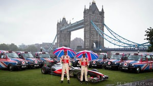 Jenson Button and Lewis Hamilton prepare for their home race, the British Grand Prix