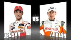 Sidepodcast: Character Cup 2010 - Round 1, Jenson Button vs. Adrian Sutil