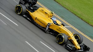 In the race, Palmer was serene