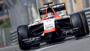 Bianchi bags Marussia's first ever points in F1