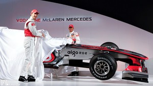McLaren launch the brand new MP4-25