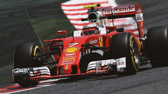 Ferrari and Mercedes head Spanish practice sessions