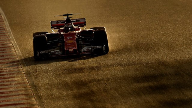 Ferrari rule the roost on soft tyres