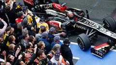 Sidepodcast: Australia 2013 - Lotus race to early victory in absorbing Albert Park
