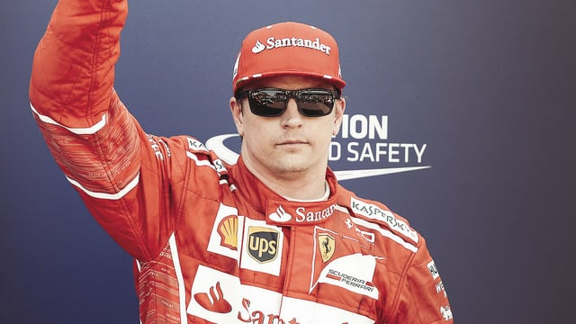 Kimi Räikkönen takes Monaco pole, his first since 2008