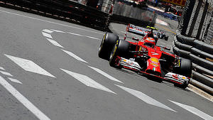Kimi makes his mark on the Monaco GP