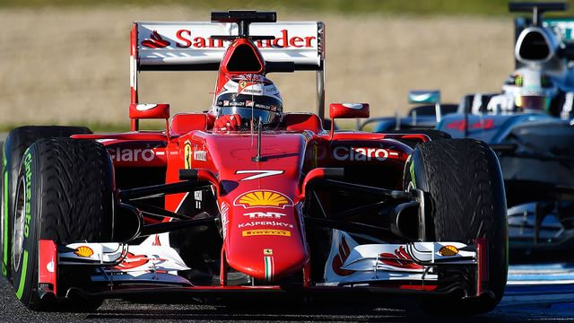 Räikkönen leads the way for final day of Jerez testing