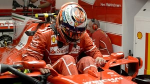 Kimi goes fastest as Massa crashes into the barriers