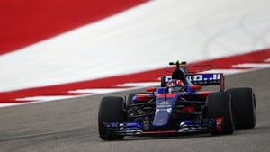 Kvyat makes his comeback in Austin practice