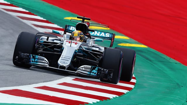 Hamilton leads the way in both Austrian Friday practice sessions