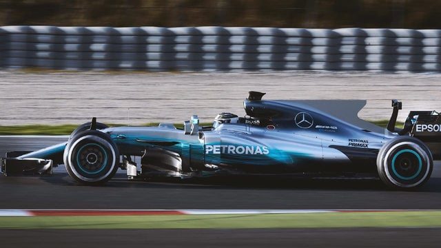 Hamilton finishes second on day two
