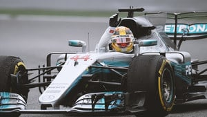 Hamilton snatches the fastest lap of the race in China