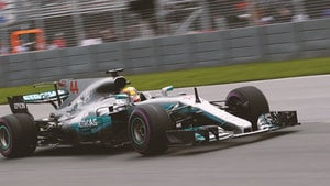 Hamilton heads the first session in Montreal