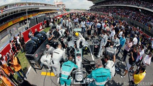 Mercedes know that qualifying on pole is only half the battle