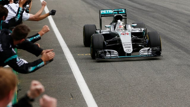 Hamilton stretches championship lead with German GP win