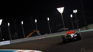 Hamilton finishes Free Practice on top in Abu Dhabi